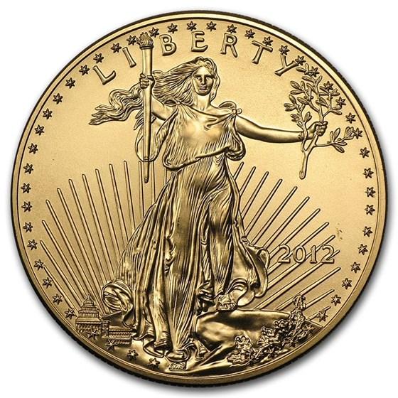 2012 1 oz American Gold Eagle BU