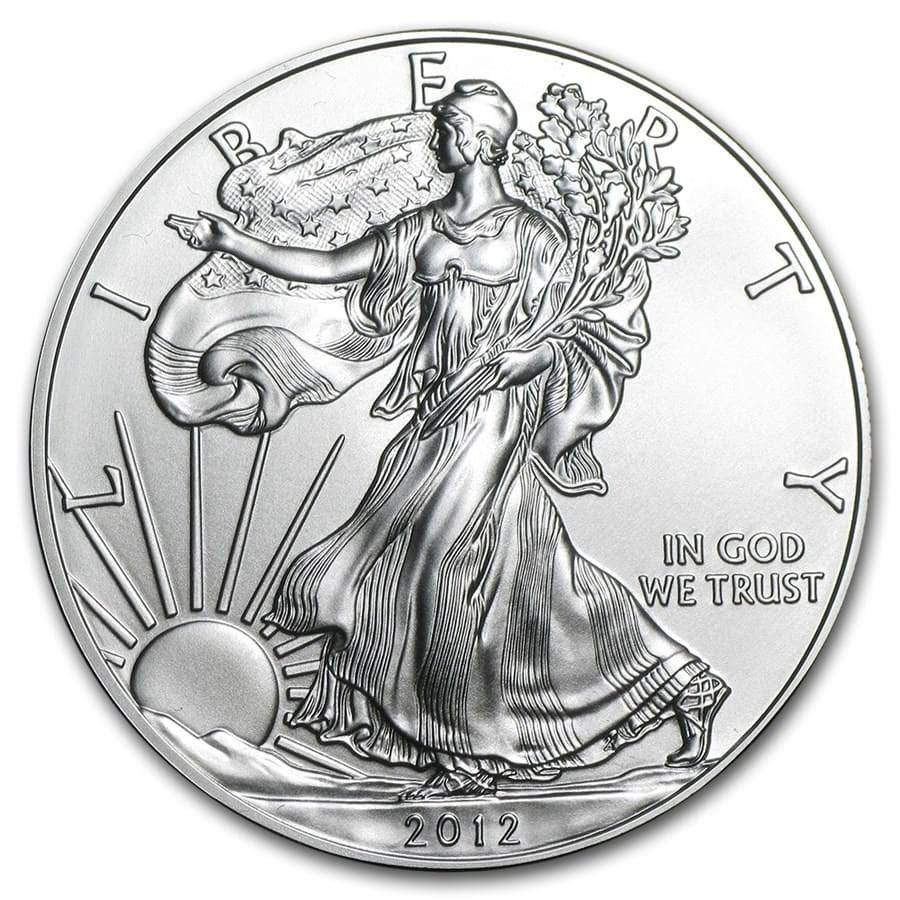 2012 1 oz American Silver Eagle BU