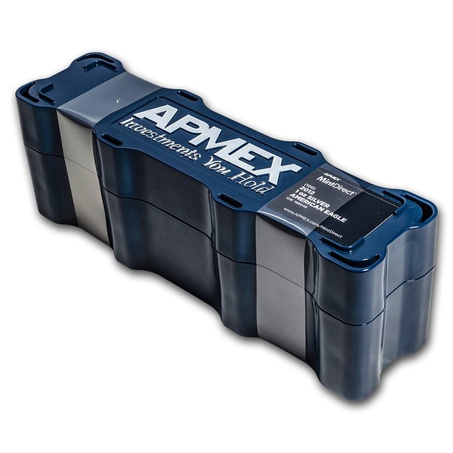 2012 100-Coin Silver American Eagle MintDirect® Mini Monster Box