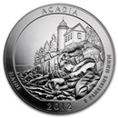 2012 5 oz Silver ATB Acadia National Park, ME