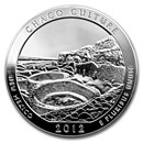 2012 5 oz Silver ATB Chaco Culture National Park, NM
