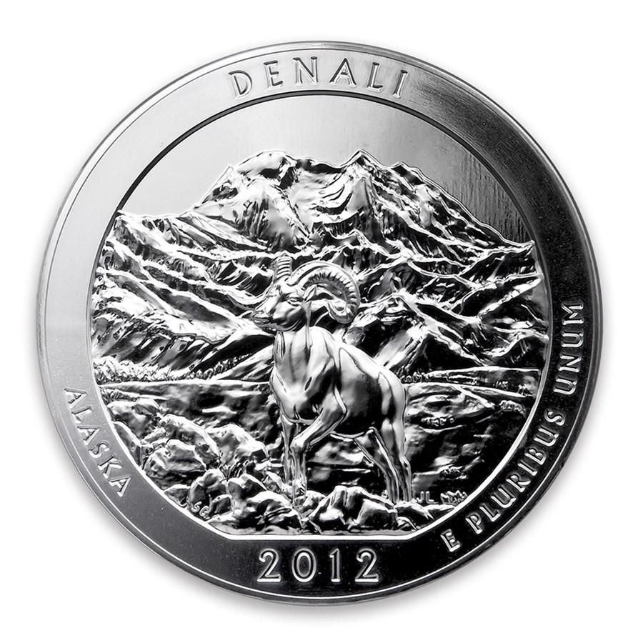 2012 5 oz Silver ATB Denali National Park, AK
