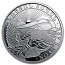 2012 Armenia 1/2 oz Silver 200 Drams Noah's Ark