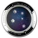 2012 AUS Silver $5 Color Domed Crux Southern Sky (No Box)