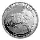 2012 Australia 1/2 oz Silver Koala BU