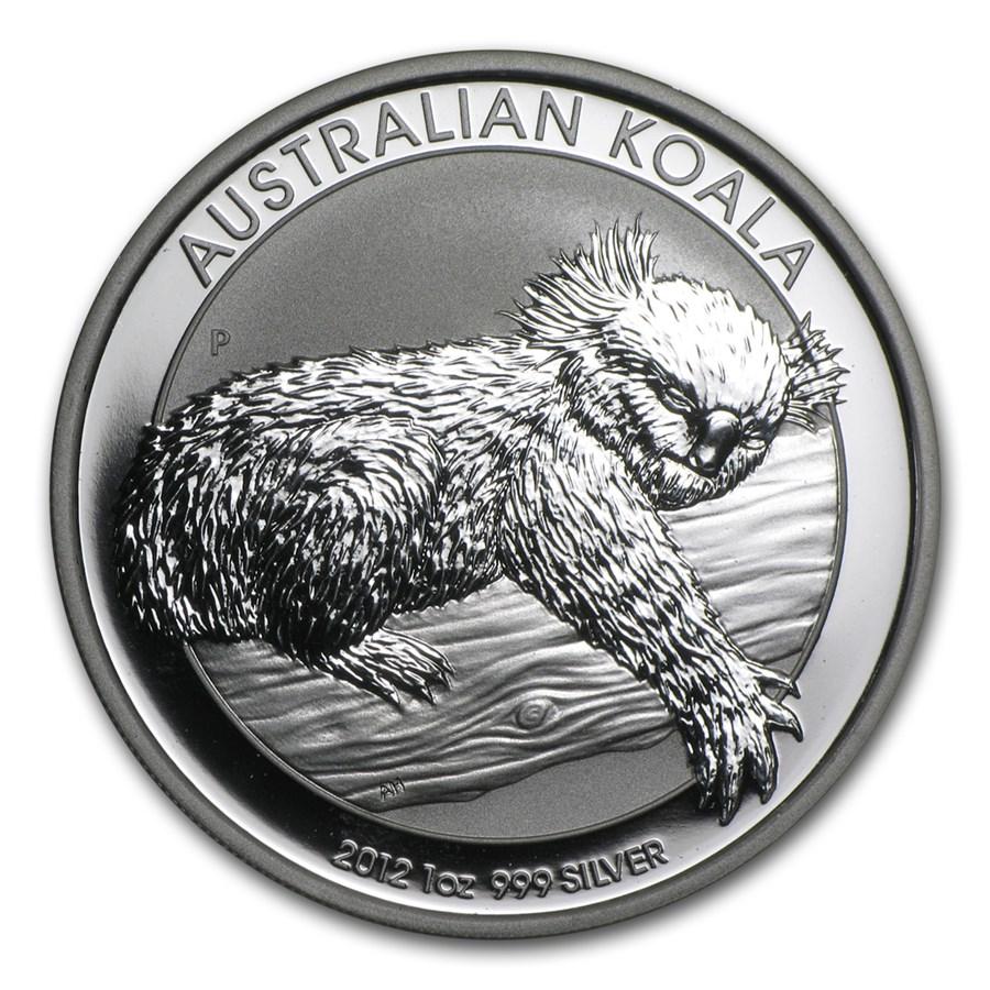 2012 Australia 1 oz Silver Koala BU