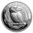 2012 Australia 1 oz Silver Kookaburra BU (Dragon Privy)