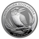 2012 Australia 10 oz Silver Kookaburra BU