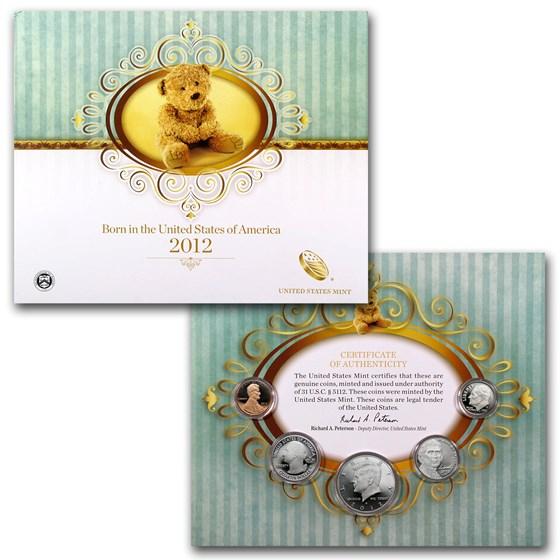 2012 Baby Gift Set - U.S. Mint Proof Set