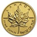 2012 Canada 1/10 oz Gold Maple Leaf BU