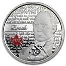 2012 Canada 1/4 oz Silver $4 Heroes of 1812 Sir Isaac Brock