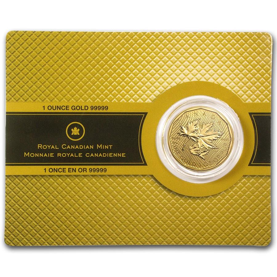 2012 Canada 1 oz Gold Maple Leaf .99999 BU (w/Assay Card)