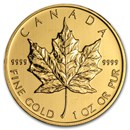 2012 Canada 1 oz Gold Maple Leaf BU