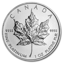 2012 Canada 1 oz Platinum Maple Leaf BU