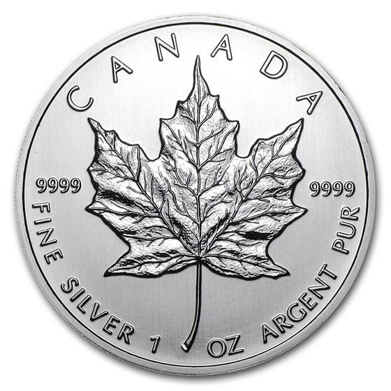 2012 Canada 1 oz Silver Maple Leaf BU