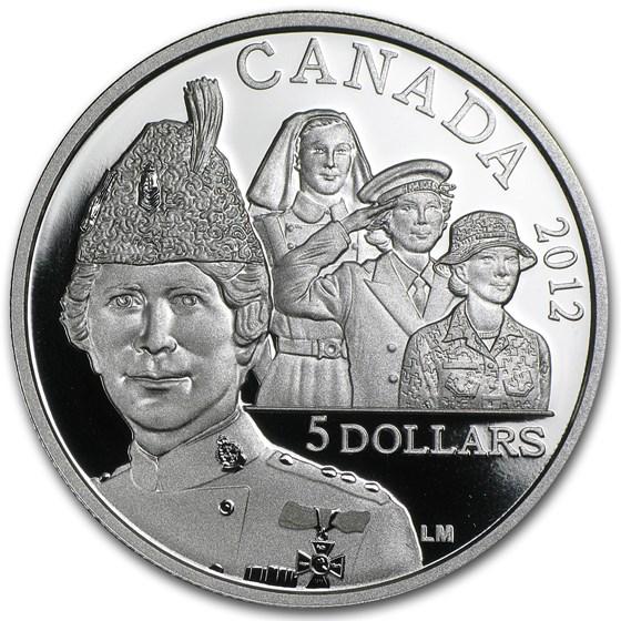 2012 Canada Silver $5 Georgina Pope Commemorative Proof