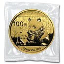 2012 China 1/4 oz Gold Panda BU (Sealed)