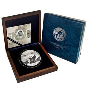 2012 China 5 oz Silver Panda Proof (w/box & COA)