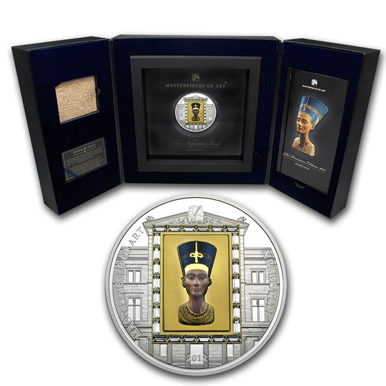 2012 Cook Islands Gold & Silver $20 Nefertiti Premium Edition