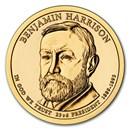 2012-D Benjamin Harrison Presidential Dollar BU