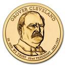 2012-D Grover Cleveland Presidential Dollar BU (1st Term)