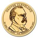 2012-D Grover Cleveland Presidential Dollar BU (2nd Term)