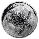2012 Fiji 1 oz Silver $2 Taku BU