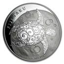 2012 Fiji 5 oz Silver $10 Taku BU