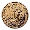 2012 Great Britain Gold Sovereign Diamond Jubilee BU