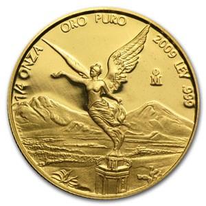 2012 Mexico 1/4 oz Proof Gold Libertad