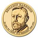 2012-P Benjamin Harrison Presidential Dollar BU