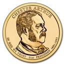 2012-P Chester Arthur Presidential Dollar BU