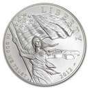 2012-P Star Spangled Banner $1 Silver Commem BU (w/Box & COA)