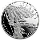 2012-P Star Spangled Banner $1 Silver Commem Proof (w/Box & COA)
