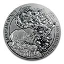 2012 Rwanda 1 oz Silver African Rhino BU