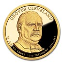 2012-S Grover Cleveland Presidential Dollar Proof (1st Term)