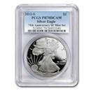 2012-S Proof American Silver Eagle PR-70 PCGS (75th Anniv)