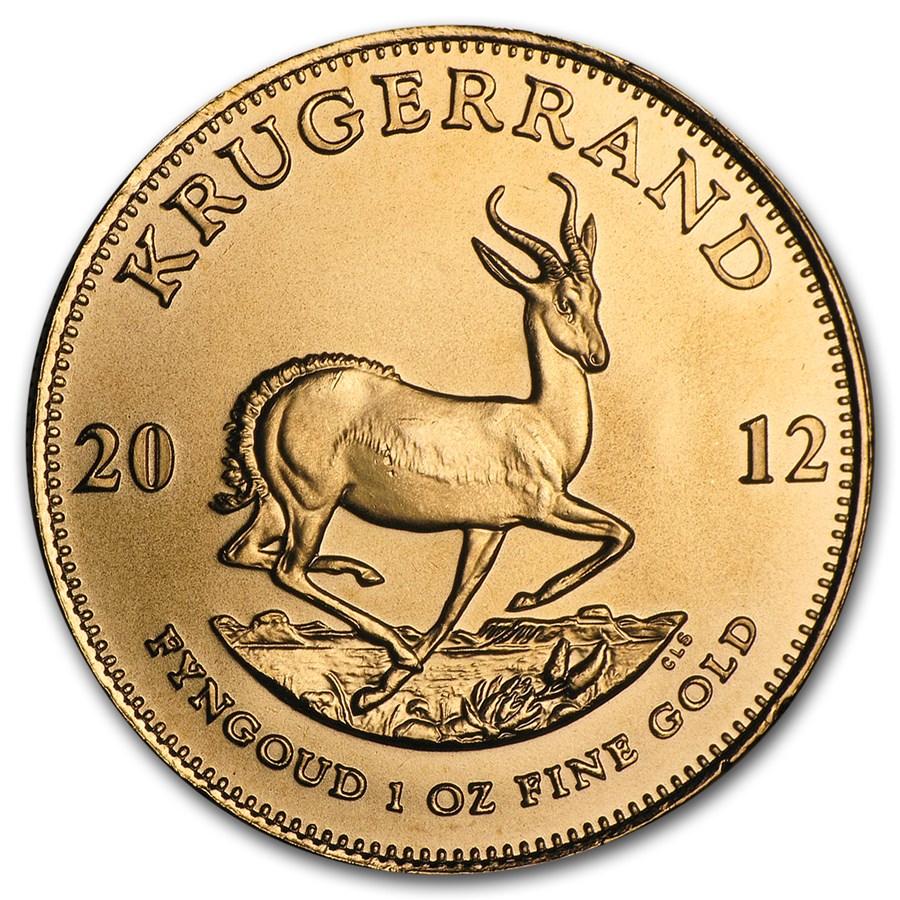 2012 South Africa 1 oz Gold Krugerrand