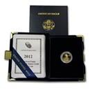 2012-W 1/10 oz Proof American Gold Eagle (w/Box & COA)
