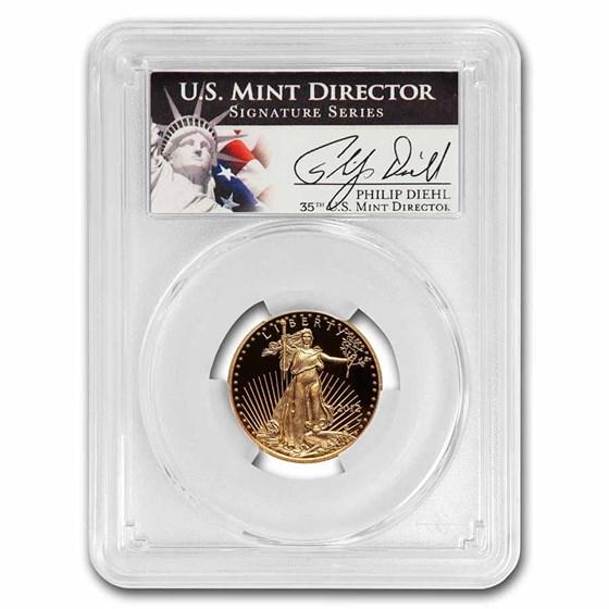 2012-W 1/4 oz Proof American Gold Eagle PR-70 PCGS (Diehl)