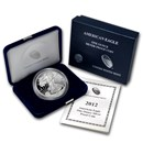 2012-W 1 oz Proof American Silver Eagle (w/Box & COA)