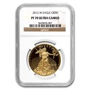 2012-W 1 oz Proof Gold American Eagle PF-70 NGC