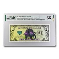 2013 $1.00 Disney Villains & Heroes Maleficent CU-66 EPQ PMG