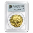 2013 1 oz Gold Buffalo MS-70 PCGS (FS, Black Diamond)