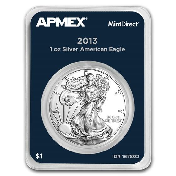 2013 1 oz Silver American Eagle (MintDirect® Single)