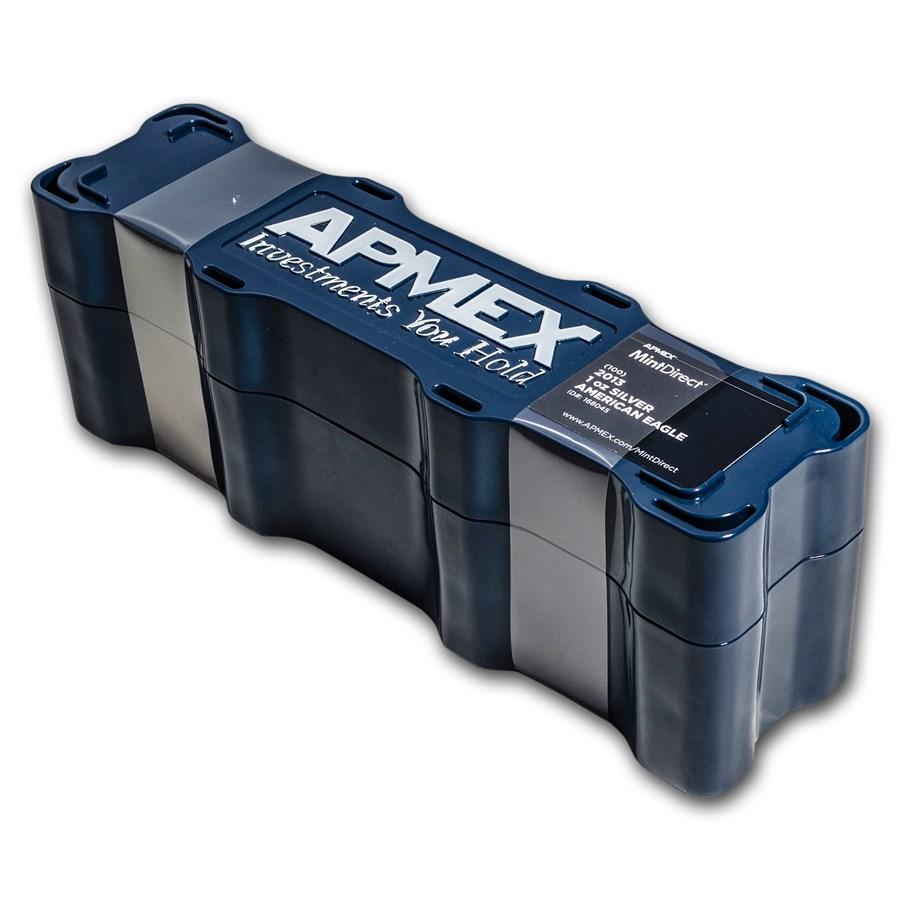 2013 100-Coin Silver American Eagle MintDirect® Mini Monster Box