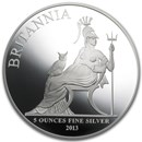 2013 5 oz Silver Britannia Proof