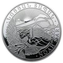 2013 Armenia 1/2 oz Silver 200 Drams Noah's Ark