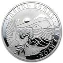 2013 Armenia 1 oz Silver 500 Drams Noah's Ark BU