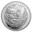 2013 Australia 1/2 oz Silver Koala BU